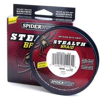 Шнур Spiderwire Stealth Braid 137m 0.14mm