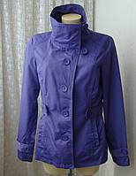 Куртка легкая плащ короткий Only р.48 7109