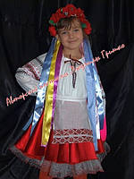 Украинский костюм для девочки. Прокат.