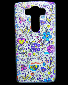Чехол накладка для LG V10 H961S силиконовый Diamond Cath Kidston, Цветочная фантазия