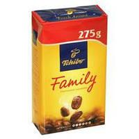 Молотый  натуральный кофе Tchibo Family 275гр. Германия