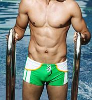 Зеленые плавки Superbody - №273