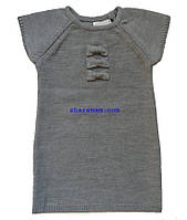 Туника-жилет серого цвета, рост 116 см