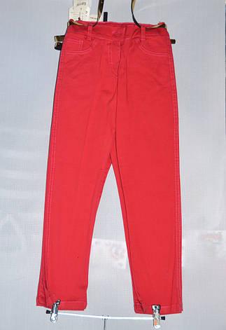 Детские брюки  стрейч для девочки 5-8 лет, фото 2
