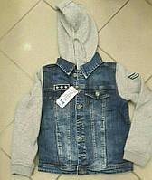 Джинсовая куртка на байке