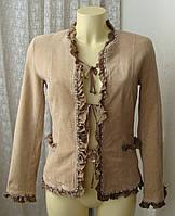 Пиджак нарядный вельвет Alba Moda р.42-44 7114