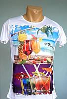 Модная футболка North's Republic - №1073