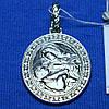 Ладанка серебро Богородица кормящая 3740-р