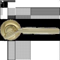 Дверная ручка на розетке Armadillo Cosmo LD147-1SG/GP-4 матовое золото/золото