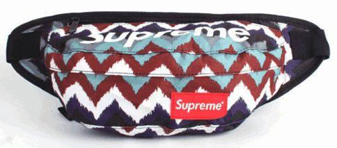 Функциональная спортивная сумка на пояс Supreme 112, разные цвета