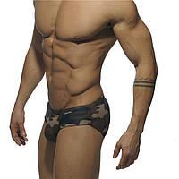 Модные мужские плавки хаки Addicted - №1307