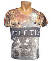 Модная мужская футболка Lagos - №1599