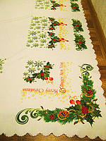 Скатерть на новогодний стол