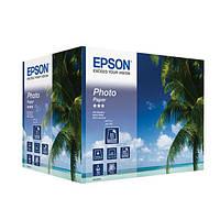 Фотобумага Epson 10x15 глянцевая 190 г/м2, 500 листов.