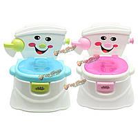 Ребенок горшок писсуар обучение ребенка ребенок учится туалет тянуть цилиндр музыкальный эхолот
