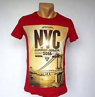 Красивая футболка NYC - №1495