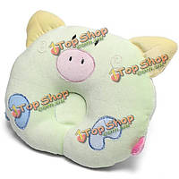 Новорожденный ребенок круглые подушки спальные поддержки предотвращения плоской головкой валика
