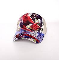 Детская кепка для мальчика Spider Man - №1526