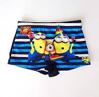 Плавки шорты для мальчиков  Minions / Миньоны - №1550