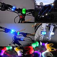 Ночь силиконовая осторожность LED свет лампа детская коляска велосипед инвалидной коляске безопасность umbrellacar интернат