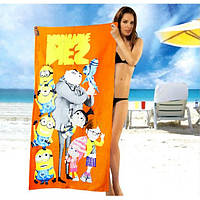 Модное полотенце Minions - №1633