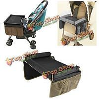 Портативный младенца Дети играют безопасность автокресло коляска лоток путешествия чертежной доске, фото 1