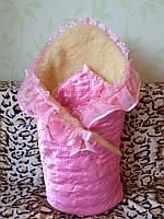 Конверт для новорожденного мех