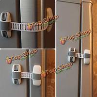 Детский детский ящик раздвижной двери безопасности холодильника кабинета детей связывает замок выгоды шкафа безопасности морозильника