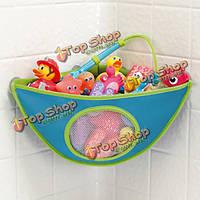 Детская ванночка игрушки сумка для хранения водонепроницаемый на присоске треугольника мешок
