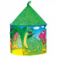 Игровая палатка Замок Динозавра Деревянные развивающие игрушки
