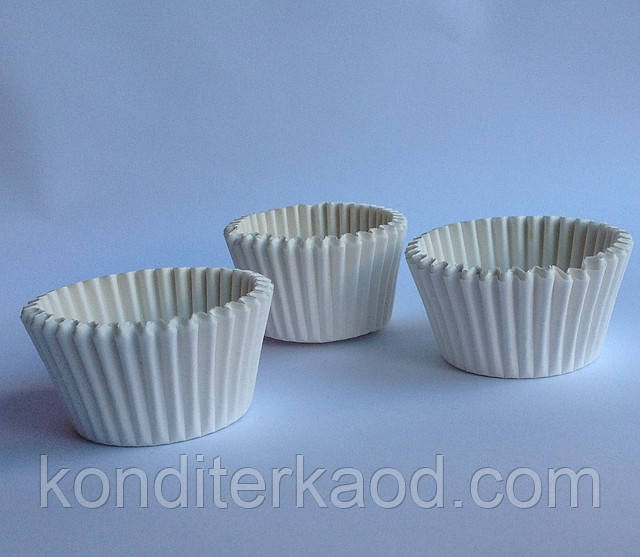 Бумажные формы (тарталетки) для выпечки кексов (11 см)