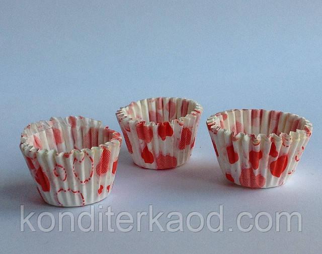 Бумажные формы (тарталетки) для выпечки мини-кексов