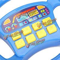 Baby дети детей 6-дюймов треугольник ритм-группа игрушечный музыкальный инструмент воспитательное средство