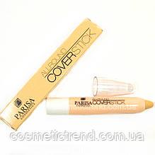 Консиллер/корректор маскирующий All round Coverstick 01 (светлый) Parisa Cosmetics