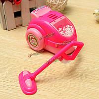 Пылесос куклы Барби розовый