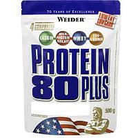Протеин Protein 80+ Вишня-марципан WEIDER 500 гр