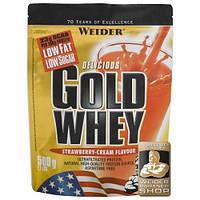 Протеин Gold Whey Малина-йогурт WEIDER 500 гр