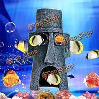 Художественное оформление аквариума озеленение водные животные, дом, аквариум орнамент
