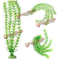 32см аквариума искусственный моделирование травы озеленение зеленый украшения