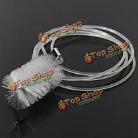 Аквариум пластиковые пробки U фильтр шланга щетка для очистки пылесоса