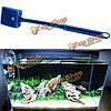 Водорослями гибкий клинок посуда стекло чистить аквариум аквариум чище