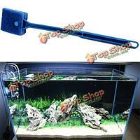 Водорослями гибкий клинок посуда стекло чистить аквариум аквариум чище, фото 1