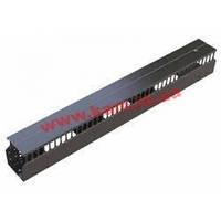 Kабельний организатор 1U односторонний, пластиковый 40x40 DP-VP-K01-H (DP-VP-K01-H)