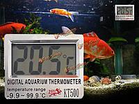 Цифровой ЖК-аквариум рыбы счетчик воды температура бака термометр термометр