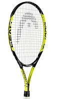 Теннисная ракетка Head Titanium 100 C99 Black/Yellow , фото 1