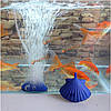 Оболочки форма воздух камень пузырь аквариумных рыб бак гидропоника аэратор диффузор пузыря аквариума насос