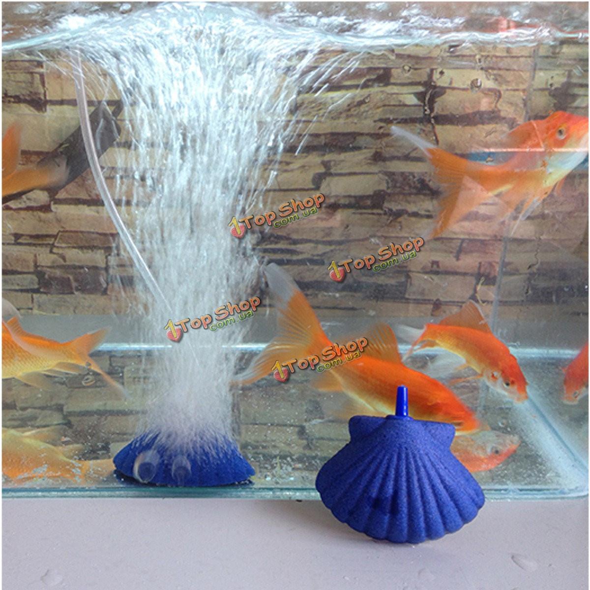 Оболочки форма воздух камень пузырь аквариумных рыб бак гидропоника аэратор диффузор пузыря аквариума насос - ➊TopShop ➠ Товары из Китая с бесплатной доставкой в Украину! в Киеве