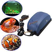 Мини аквариумных рыб воздушный насос кислородного бака насос ultrasilent кислорода