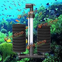 Биохимические губка аквариум аквариум фильтр по XY-2822 биохимические губка фильтр