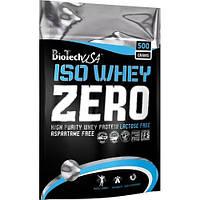 Протеин ISO WHEY Zero lactose free Ваниль BioTech 500 г